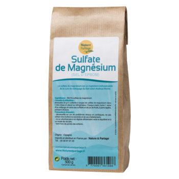 Sulfate de magnésium (sel d'Epsom