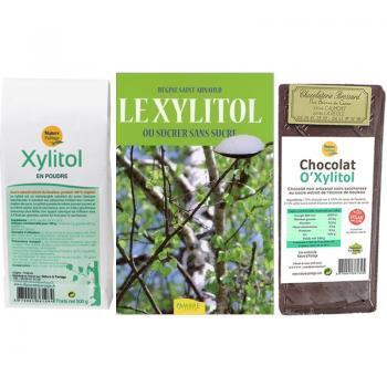 Offre Xylitol sucre de bouleau + 1 chocolat O'Xylitol OFFERT